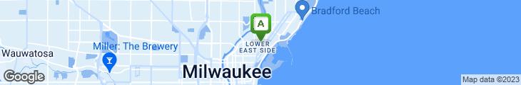 Map of Hi Hat Lounge