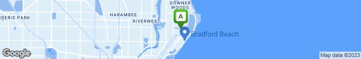 Map of Cafe Hollander