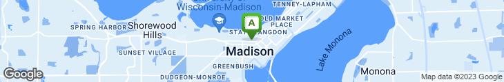 Map of Taco Bros. Madison