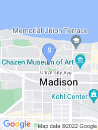 University of Wisconsin map