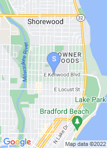 UW Milwaukee map