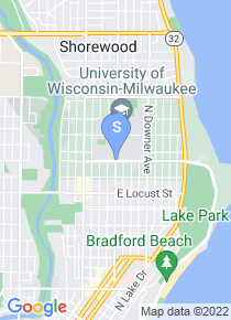 University of Wisconsin Milwaukee map