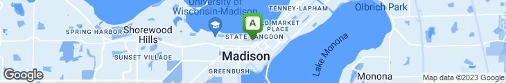 Map of Nadia's Restaurant & Grapevine