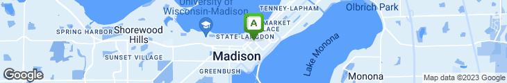 Map of Orpheum Theatre Lobby Restaurant