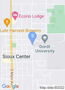 Dordt College map