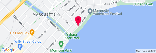 Map for Yahara Place Park