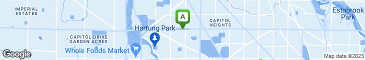 Map of Mykonos Family Restaurant