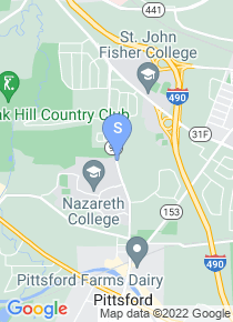Nazareth College map