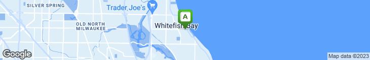 Map of Jack Pandl's Whitefish Bay
