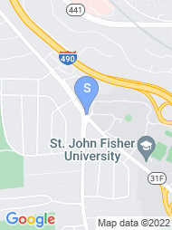 Saint John Fisher College map