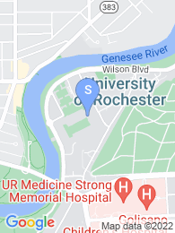 University of Rochester map
