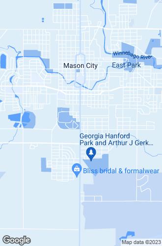 Map of Mason City