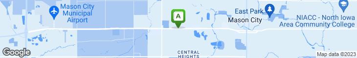 Map of Carlos O'Kelly's