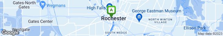 Map of Stock Exchange Restaurant