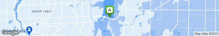 Map of Bayside Landing