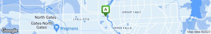 Map of Yummy Garden - Lake Ave.