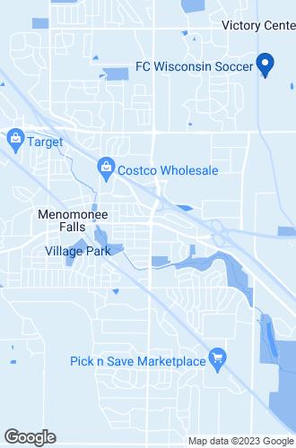 Map of Menomonee Falls