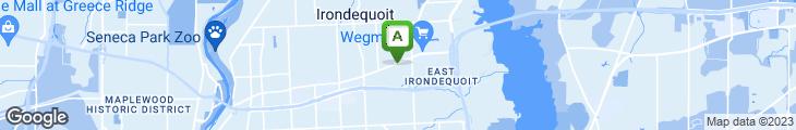 Map of East Ridge Family Restaurant