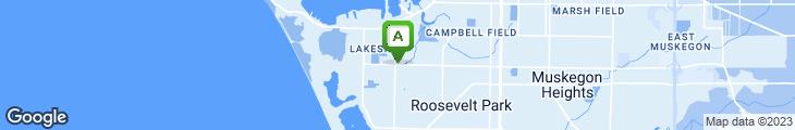 Map of Cherokee Restaurant