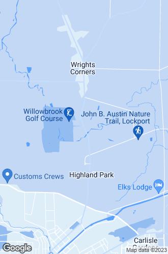 Map of Lockport