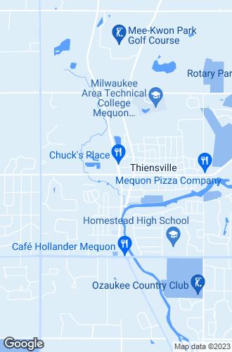 Map of Thiensville