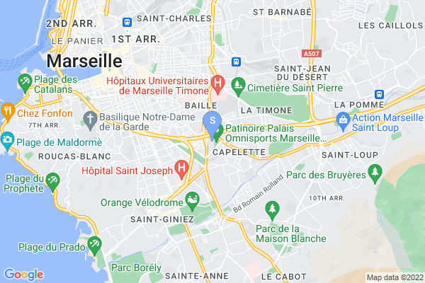 carte - Marseille Hockey Club Amateur