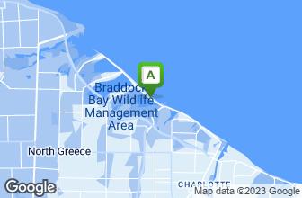 Map of Crescent Beach Hotel