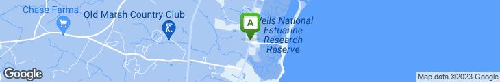 Map of Amato's Xpress