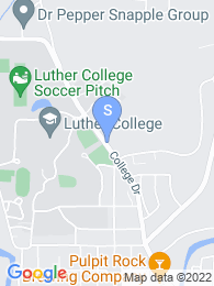 Luther College map