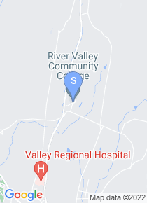 River Valley Community College map