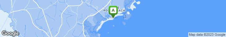 Map of Tides Beach Club