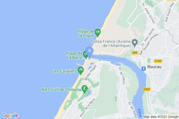 carte - Anglet Hormadi Amateur
