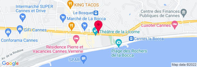 Map for Théâtre de la Licorne