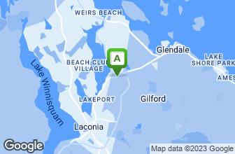 Map of Papa Gino's