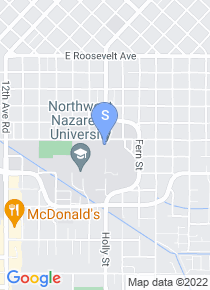 Northwest Nazarene University map