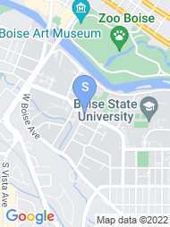 Boise State map
