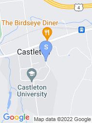Castleton State College map