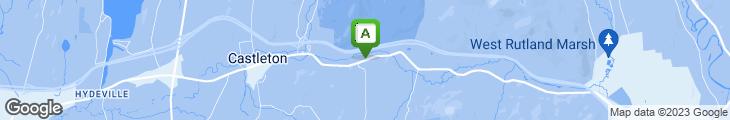 Map of Iron Lantern Restaurant
