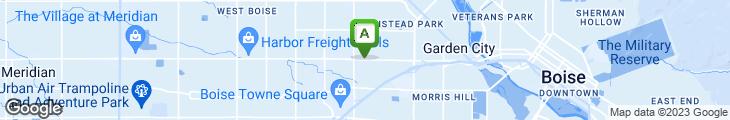Map of Idaho Pizza Company