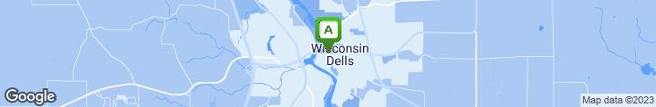 Map of River Walk Pub
