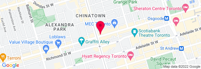 Map for Horseshoe Tavern