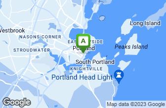 Map of Portland Pie Company Portland