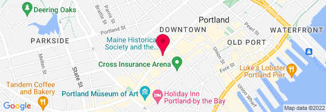 Map for Port City Music Hall