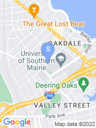 University of Southern Maine map