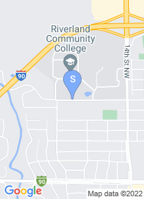 Riverland Community College map