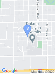 Dakota Wesleyan University map