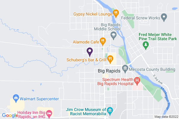 Map of Crossroads Charter Academy Middle/High