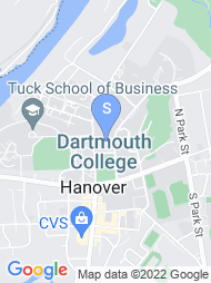 Dartmouth College map
