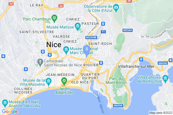 carte - Nice Hockey Côte d'Azur