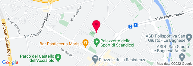 Map for Palazzetto dello Sport